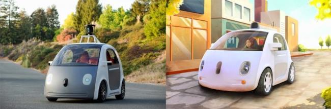Prototipo di Google Car