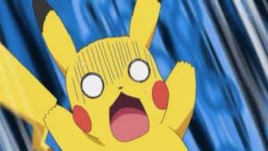Un'immagine del grande Pikachu.