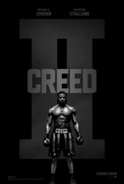 La locandina del prossimo film Creed II