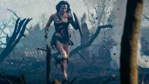 Wonder Woman in una scena tratta dal primo film