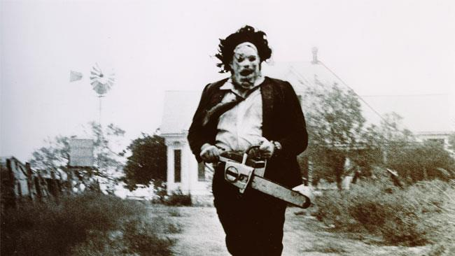 Il protagonista del film splatter the texas chainsaw massacre