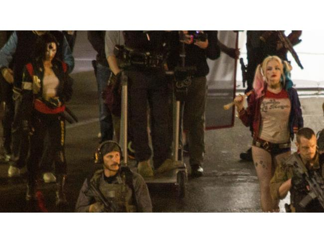 Katana e Harley Quinn in Suicide Squad