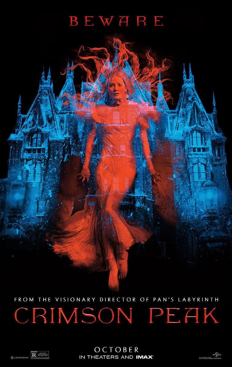 Il poster ufficiale di Crimson Peak di Guillermo del Toro