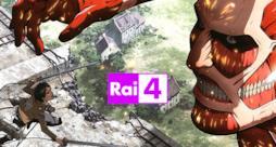 L'Attacco dei Giganti arriva su RAI4