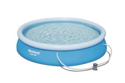 La piscina gonfiabile