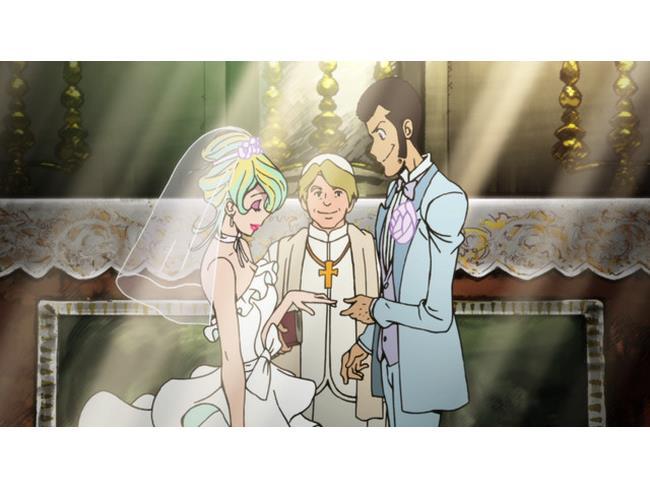 Lupin sposa Rebecca nel primo episodio