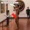Turista spagnolo nudo davanti alla Venere agli Uffizi