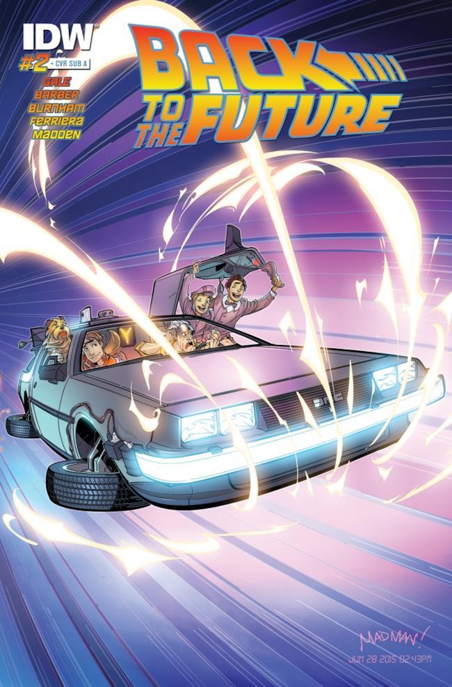 Il secondo volume del fumetto di Ritorno al Futuro