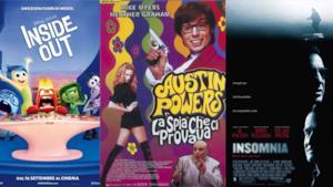 Tre locandine dei film consigliati da FlopTV