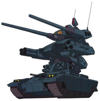 L'RMV-1 Guntank II nella versione animata