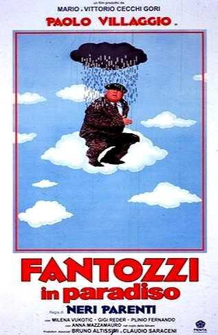 La locandina de Fantozzi in Paradiso