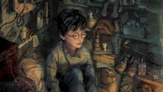 Illustrazione di Harry nel ripostiglio