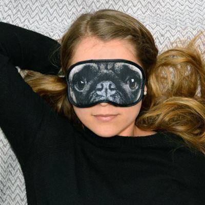 La maschera da letto da carlino - Regali sotto i 10 euro