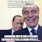 hahaha visto silvio hanno votato renzi  hahahaha ora si che l'italiani devono mettere la crema per il c......