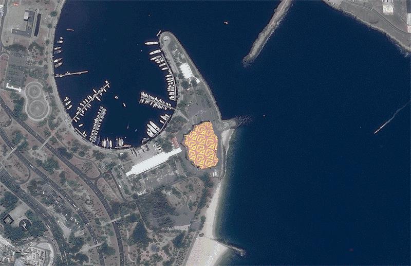 LA GIF di INSA fatta con foto catturate da satellite