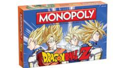 La scatola del Monopoly DragonBall Z