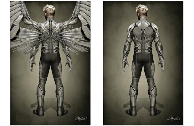 Arcangelo in una concept art di X-Men: Apocalypse