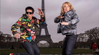 Ben Stiller e Owen Wilson sul set fotografico parigino di Zoolander 2