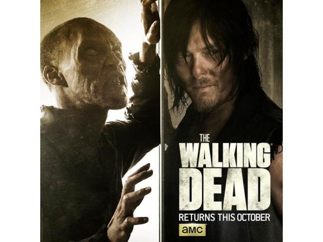 Poster di The Walking Dead con Daryl