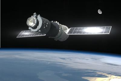 Tiangong-1 nello spazio