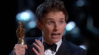 Eddie Redmayn, premio Oscar 2015