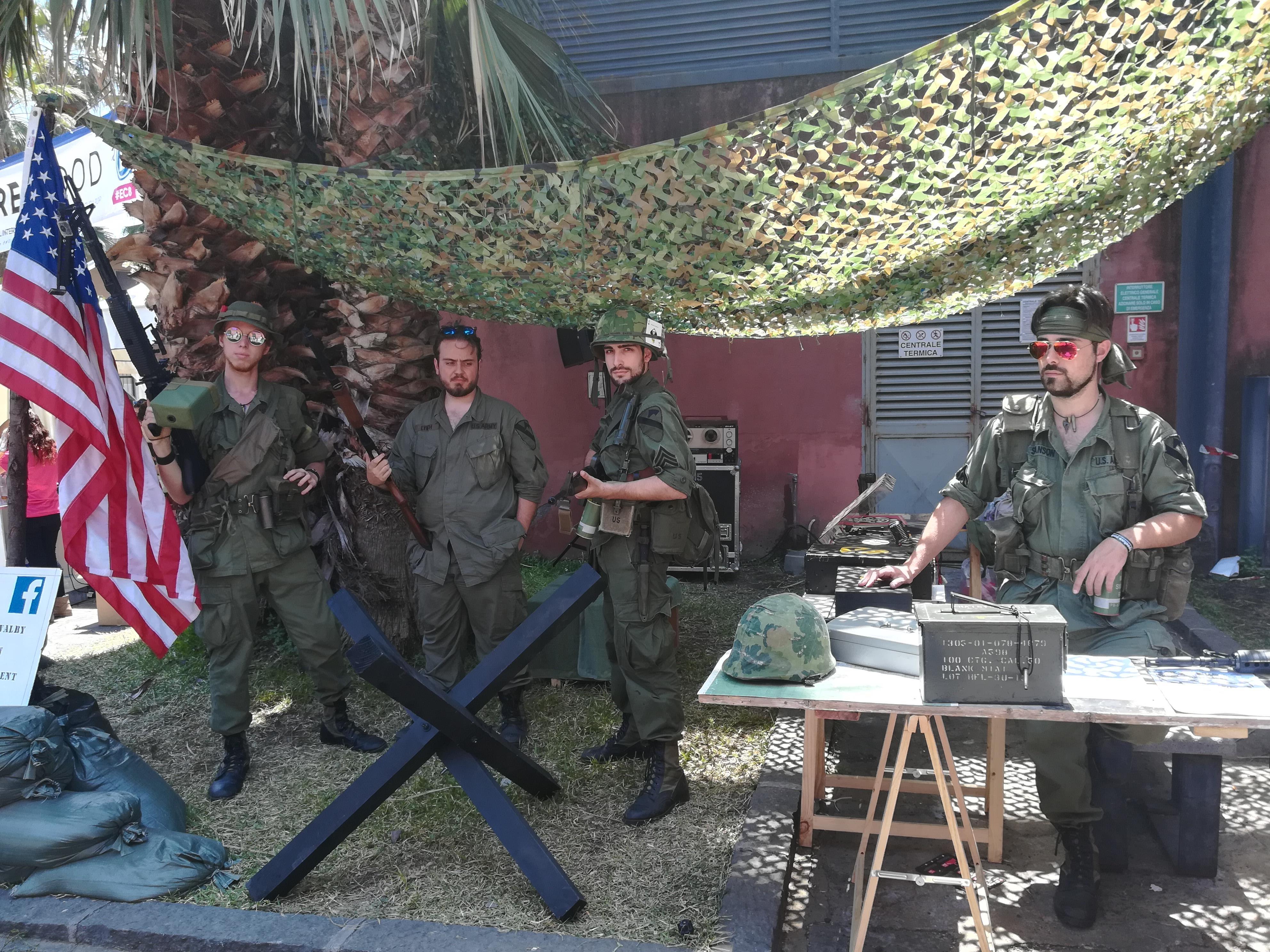 La foto dei soldati