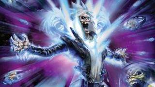Una prima immagine che vede l'iconico Eddie, personaggio degli Iron Maiden, nel fumetto.