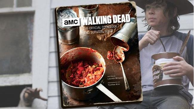 Il libro di cucina e Carl di The Walking Dead