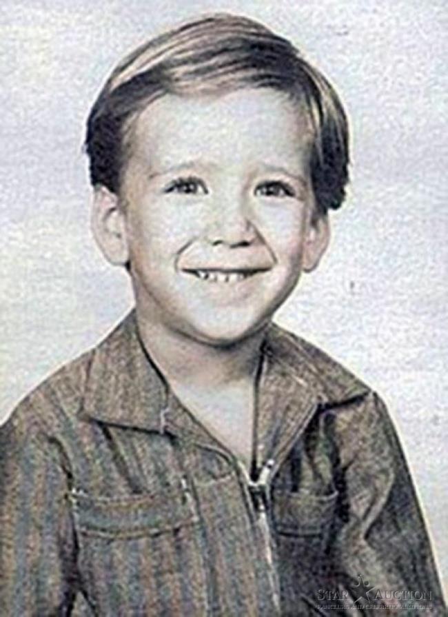 Un'immagine di Nicolas Cage da adolescente