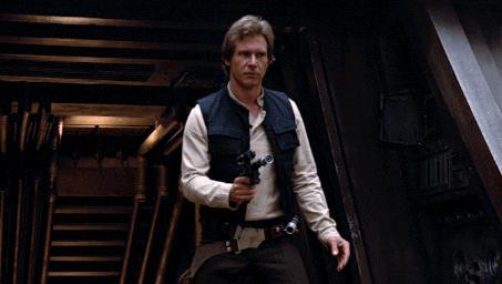 A Han Solo non importa molto - GIF di reazione ai commenti, le più divertenti da usare su Whatsapp e Facebook