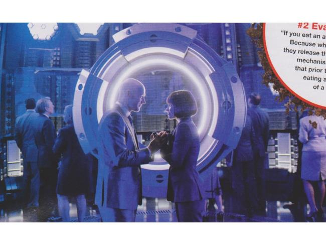 Darren Cross e Hope Van Dyne in una scena di Ant-Man