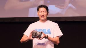 Uno dei momenti dell'annuncio del Sega Mega Drive Mini