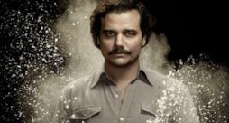 Pablo Escobar della serie Narcos