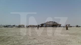 Visione panoramica di Tatooine