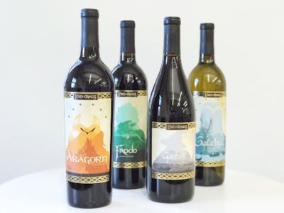 Le 4 varietà di vino a disposizione