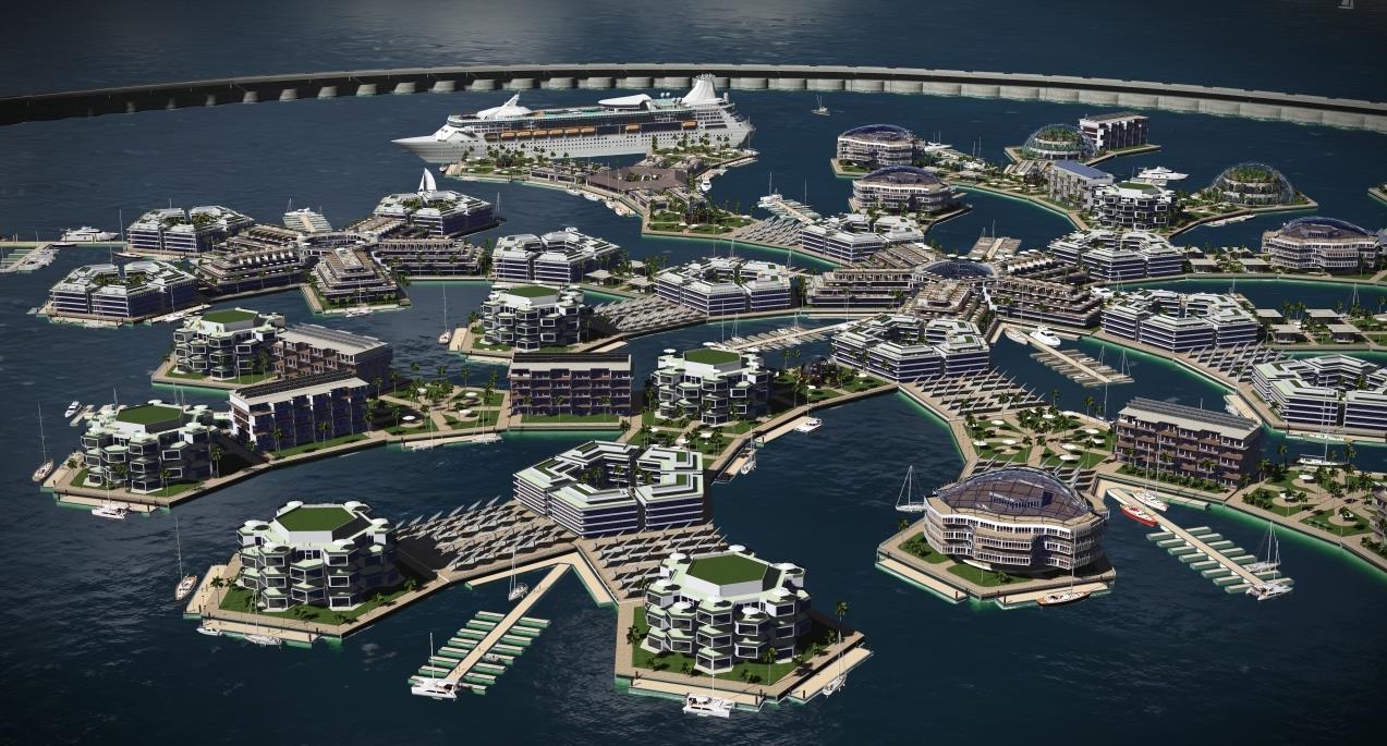 Peter Thiel, il progetto della città galleggiante