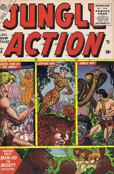 La copertina di Jungle Action 6 - I migliori fumetti con Black Panther