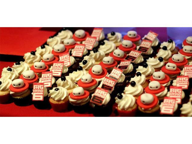 Cupcake ispirati a Big Hero 6