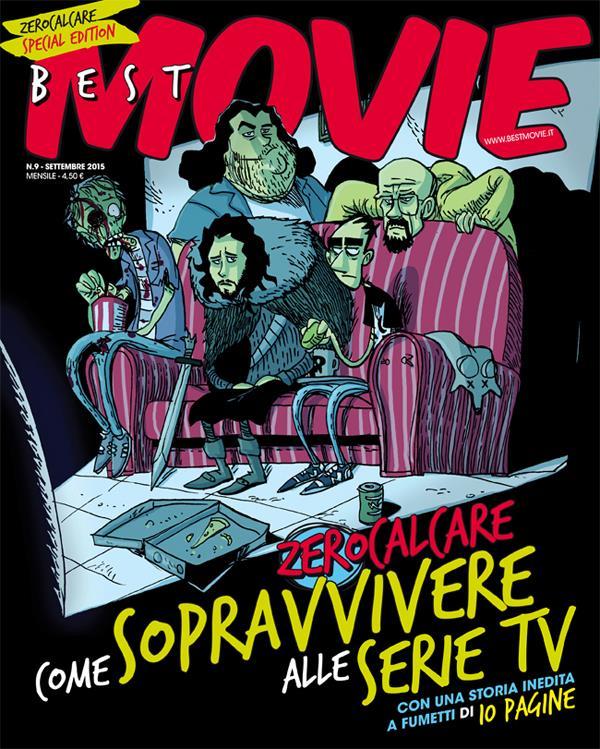 Zerocalcare: Come sopravvivere alle serie tv