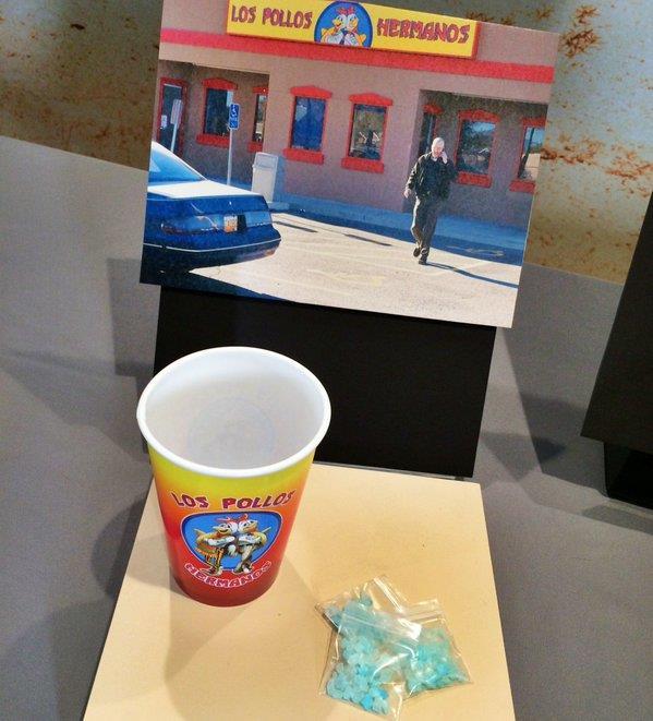 Oggetti di Breaking Bad e il suo meth in mostra al museo