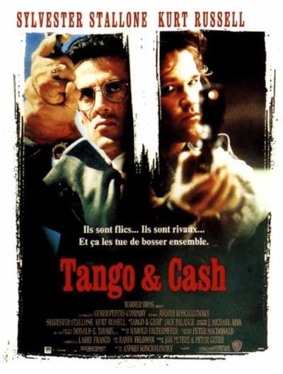La locandina de Tango & Cash