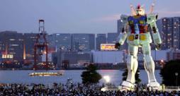 Il primo modello di Gundam mobile potrebbe camminare nel 2019