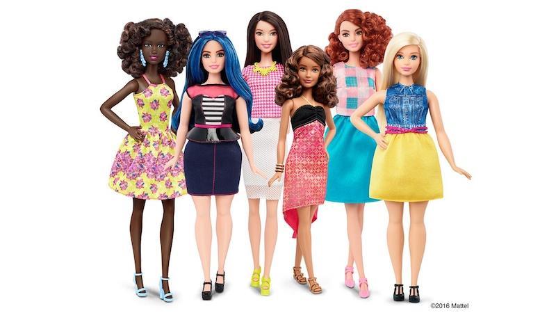 Le nuove Barbie del 2016
