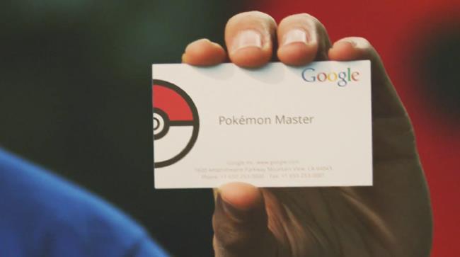 biglietto pokemon master di Google