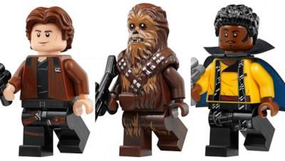 Alcuni personaggi inclusi nella confezione del nuovo set LEGO