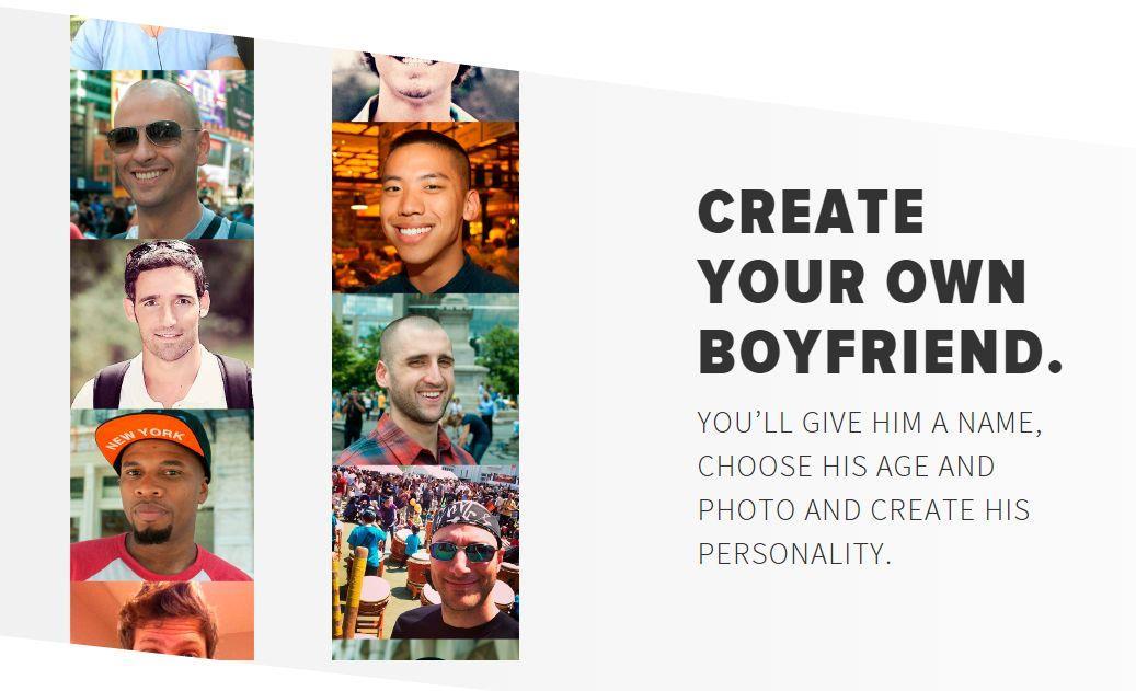 L'app Invisible Boyfriend per il tuo ragazzo immaginario
