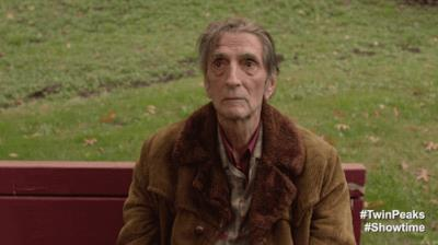 La gif su un personaggio di Twin Peaks
