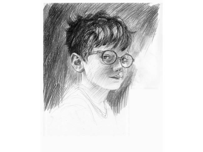 Sketch di Harry Potter di Jim Kay