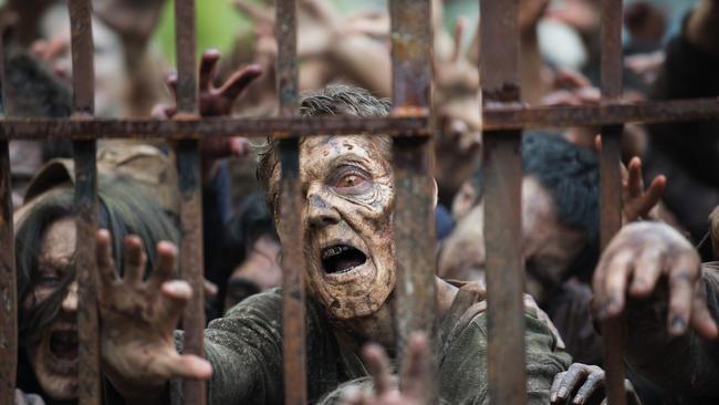 Alcuni zombie dallo show AMC