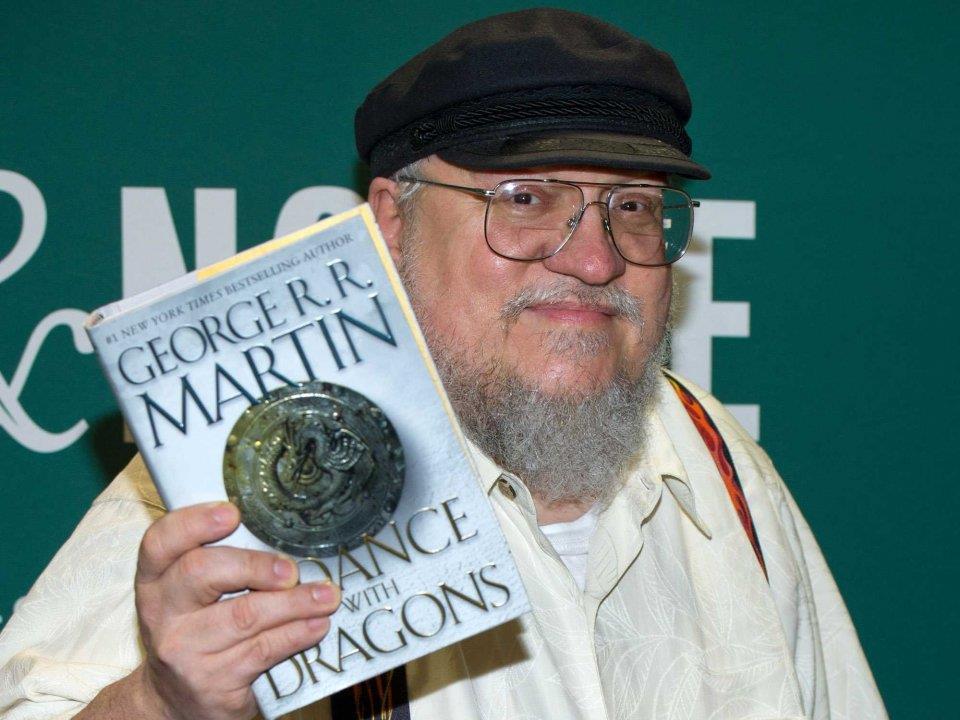 Una foto recente di George R.R. Martin